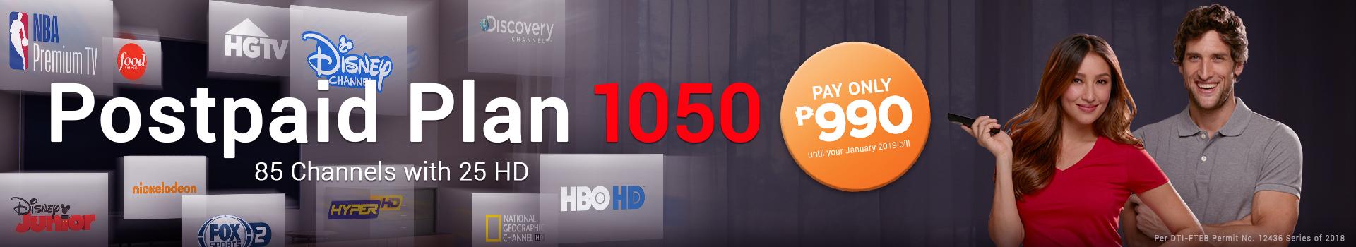 Postpaid Plan 1050